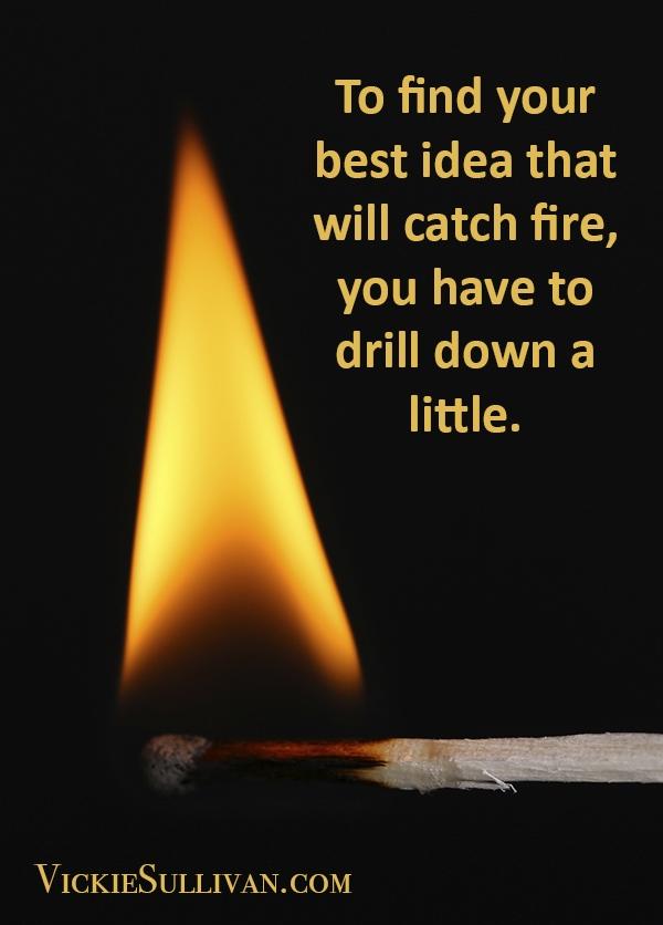 Ideas that catch fire